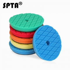 SPTA 6 inch (150mm ) Yellow/Red/Blue/Black/White Compound Buffing Pads Polishing Pads For Car Polisher