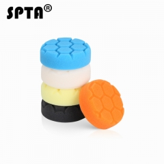 SPTA 3 inch (80mm) Compound Buffing Pads Polishing Pads kit For Car Polisher --Professional Quality