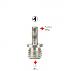 "1Pc Adapter 5/16""-24 Change To M14"