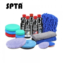 SPTA 120/500ml Rubbing Compound Scratch Remover High-end Liquid Car Wax Color Enhance Polishing Glaze Liquid